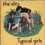 Click here for more info about 'The Slits - Typical Girls - 4-Pr'
