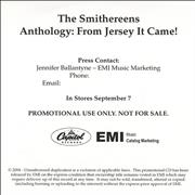 Click here for more info about 'The Smithereens - Anthology: From Jersey It Came!'