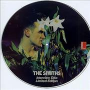 Click here for more info about 'The Smiths - Interview Disc - numbered'