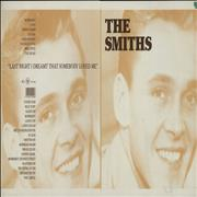 Click here for more info about 'The Smiths - Last Night I Dreamt That Somebody Loved Me - Artwork'