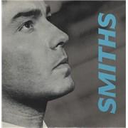 """The Smiths Panic + Stickers UK 7"""" vinyl"""