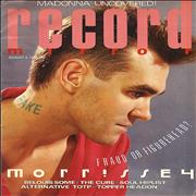 Click here for more info about 'The Smiths - Record Mirror - August 1985'