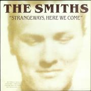 Click here for more info about 'The Smiths - Strangeways Here We Come - Gold Promo Stamp'