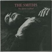 The Smiths The Queen Is Dead - Green vinyl - Ex Germany vinyl LP