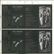Click here for more info about 'The Smiths - The Queen Is Dead Cassette Artwork + Cassette'