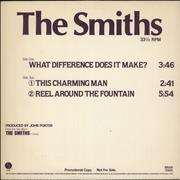 Click here for more info about 'The Smiths - What Difference Does It Make'