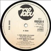 Click here for more info about 'The Sos Band - Even When You Sleep'
