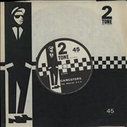 Click here for more info about 'The Specials - Gangsters - Solid - 2T Sleeve'