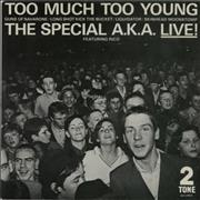Click here for more info about 'The Specials - Too Much Too Young EP - Inj - P/S'