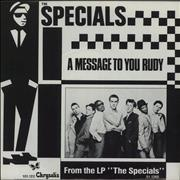 Click here for more info about 'The Specials - A Message To You Rudy'