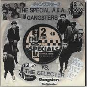 Click here for more info about 'The Specials - Gangsters - Punk Art Sleeve'
