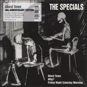 """The Specials Ghost Town - 40th Anniversary Edition - Half Speed Mastered UK 7"""" vinyl"""