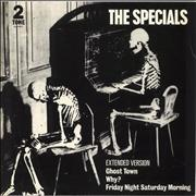 Click here for more info about 'The Specials - Ghost Town - Laminated Sleeve'