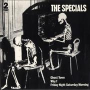Click here for more info about 'The Specials - Ghost Town - Paper Label + p/s'