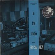 Click here for more info about 'The Specials - In The Studio - EX - Sticker'