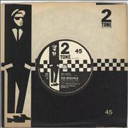 Click here for more info about 'The Specials - Rat Race - Paper labels'