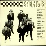 The Specials Specials France vinyl LP