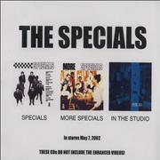 Click here for more info about 'The Specials - Specials/More Specials/In The Studio'