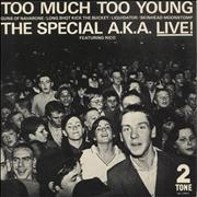Click here for more info about 'The Specials - Too Much Too Young EP - P/S - Inj'