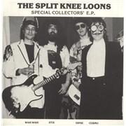 "The Split Knee Loons Special Collectors' EP - Brown Vinyl UK 7"" vinyl"
