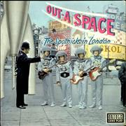 The Spotnicks Out-A-Space - The Spotnicks In London UK vinyl LP