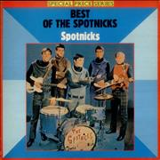 The Spotnicks The Best Of The Spotnicks UK vinyl LP Promo