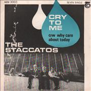 Click here for more info about 'The Staccatos - Cry To Me'