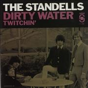 Click here for more info about 'The Standells - Dirty Water / Twitchin' - RSD14 - Clear Vinyl'