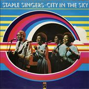 The Staple Singers City In The Sky UK vinyl LP