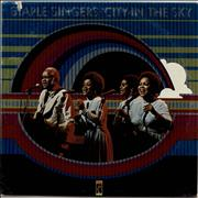The Staple Singers City In The Sky USA vinyl LP