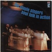 The Staple Singers Soul Folk In Action UK vinyl LP