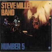 Click here for more info about 'The Steve Miller Band - Number 5 - lime green label'
