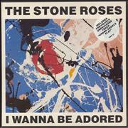 Click here for more info about 'The Stone Roses - I Wanna Be Adored - Stickered Sleeve'