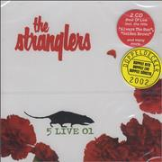 Click here for more info about 'The Stranglers - 5 Live 01'