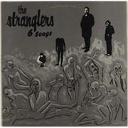"""The Stranglers 6 Songs Greece 12"""" vinyl"""