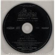 The Stranglers About Time Sampler UK CD single Promo