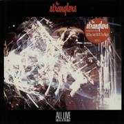 The Stranglers All Live And All Of The Night - Gatefold Sleeve UK vinyl LP
