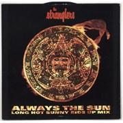 "The Stranglers Always The Sun - Long Hot Sunny Side Up Mix UK 12"" vinyl"
