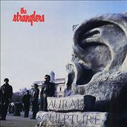 Click here for more info about 'The Stranglers - Aural Sculpture - Gold promo stamped'