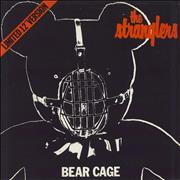 """The Stranglers Bear Cage - Picture sleeve UK 12"""" vinyl"""