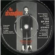 """The Stranglers Bear Cage UK 7"""" vinyl Promo"""