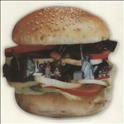The Stranglers Big In America UK shaped picture disc
