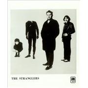 The Stranglers Black & White USA press pack Promo