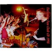 The Stranglers Exclusive Fan Club CD 1998 UK CD album