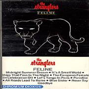 The Stranglers Feline USA cassette album