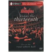 The Stranglers Friday The Thirteenth UK 2-disc CD/DVD set