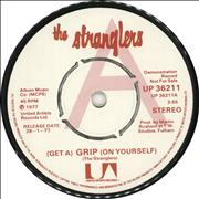Click here for more info about 'The Stranglers - (Get A) Grip (On Yourself) / London Lady - P/S'