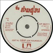 """The Stranglers (Get A) Grip (On Yourself) - 4prong UK 7"""" vinyl"""