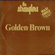 "The Stranglers Golden Brown Germany 12"" vinyl"