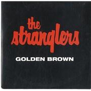 The Stranglers Golden Brown Netherlands CD single